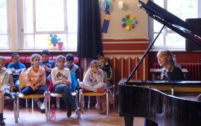 Visita de la pianista Natalia Ehwald