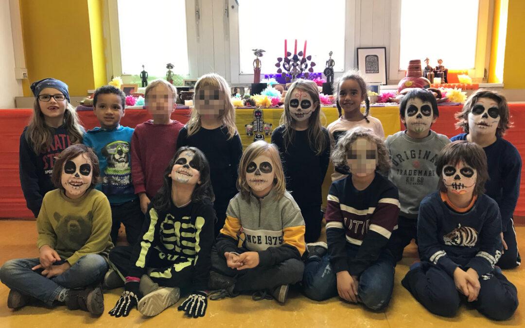 Día de Muertos en la clase 1e