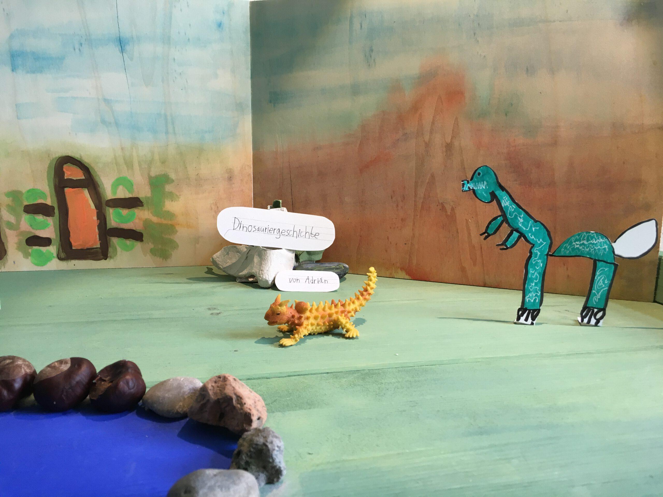 Die Dinosauriergeschichte